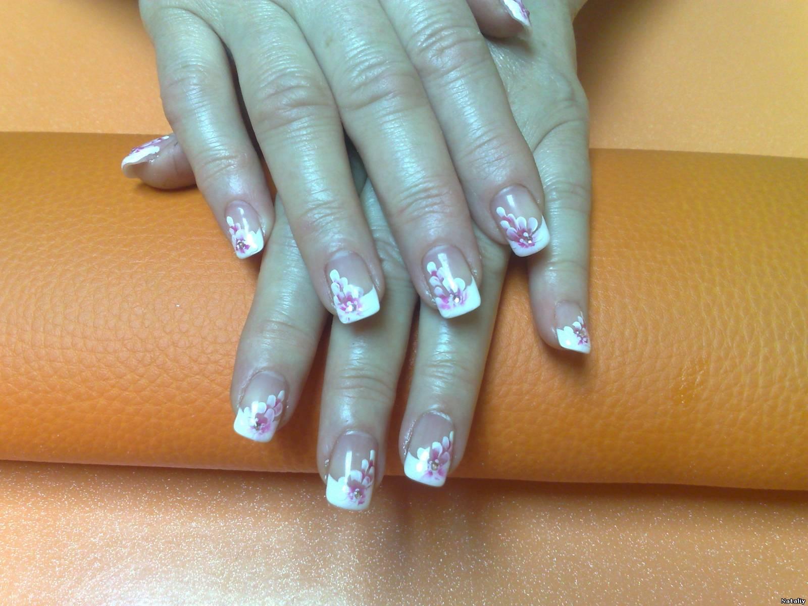 Нарощенные ногти для лета фото